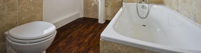 Laminaat in badkamer | vloereninfo.be